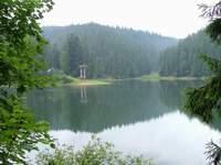 Синевирское озеро. Карпаты.
