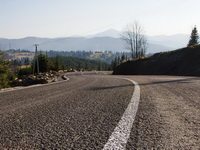 Новая дорога на Буковель